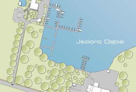 Przystań Marina Club zagospodarowanie terenu